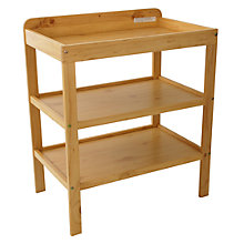 Buy John Lewis Changing Table, Natural Online at johnlewis.com
