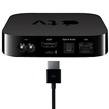 Buy New Apple TV with 1080p Full HD Online at johnlewis.com