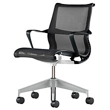 Buy Herman Miller Setu Task Chair, Graphite Online at johnlewis.com