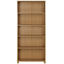Buy John Lewis Value Kirby Tall, Wide Bookcase Online at johnlewis.com