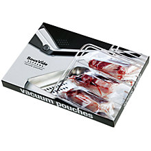 Buy SousVide Vacuum Seal Bags/Pouches, Large, Pack of 12 Online at johnlewis.com