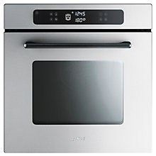 Buy Smeg F610X Marc Newson Single Electric Oven, Stainless Steel Online at johnlewis.com