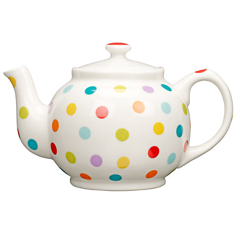 Buy John Lewis Spot Teapot, 6 Cup Online at johnlewis.com
