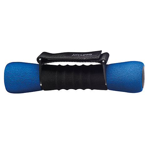 Buy John Lewis Soft Grip Dumbbells, 2x 1kg Online at johnlewis.com