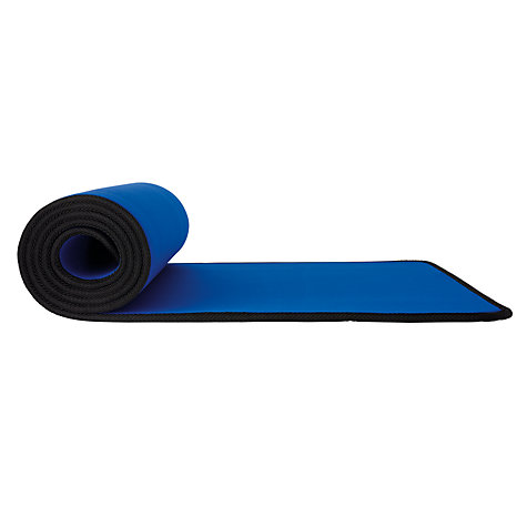Buy John Lewis Fitness Mat, Blue Online at johnlewis.com