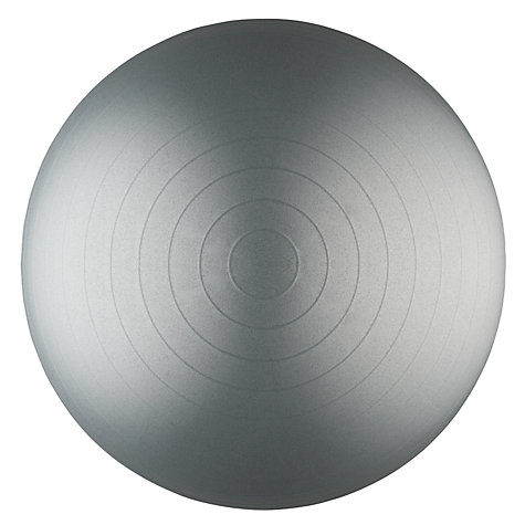 Buy John Lewis Balance Ball, Grey, 65cm Online at johnlewis.com