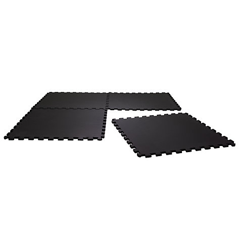 Buy John Lewis Floor Guards, Pack of 4, Black Online at johnlewis.com
