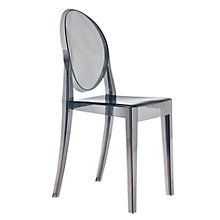 Buy Philippe Starck for Kartell Victoria Ghost Chair, Smoke Grey Online at johnlewis.com