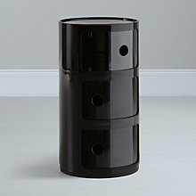 Buy Kartell Componibili Circular Storage Unit, 3 Tier Online at johnlewis.com
