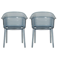 Buy Bouroullec Brothers for Kartell Papyrus Chair, Powder Blue, Pair Online at johnlewis.com