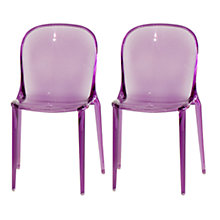 Buy Patrick Jouin for Kartell Thalya Chairs, Pair Online at johnlewis.com