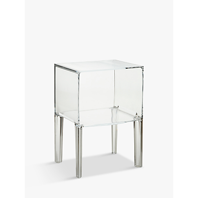 Philippe Starck for Kartell Ghost Buster Night Table, Crystal, Small