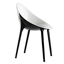 Buy Philippe Starck for Kartell Super Impossible Chair, White / Black Online at johnlewis.com