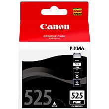 Buy Canon Inkjet Cartridge, Black, PGI-525 Online at johnlewis.com