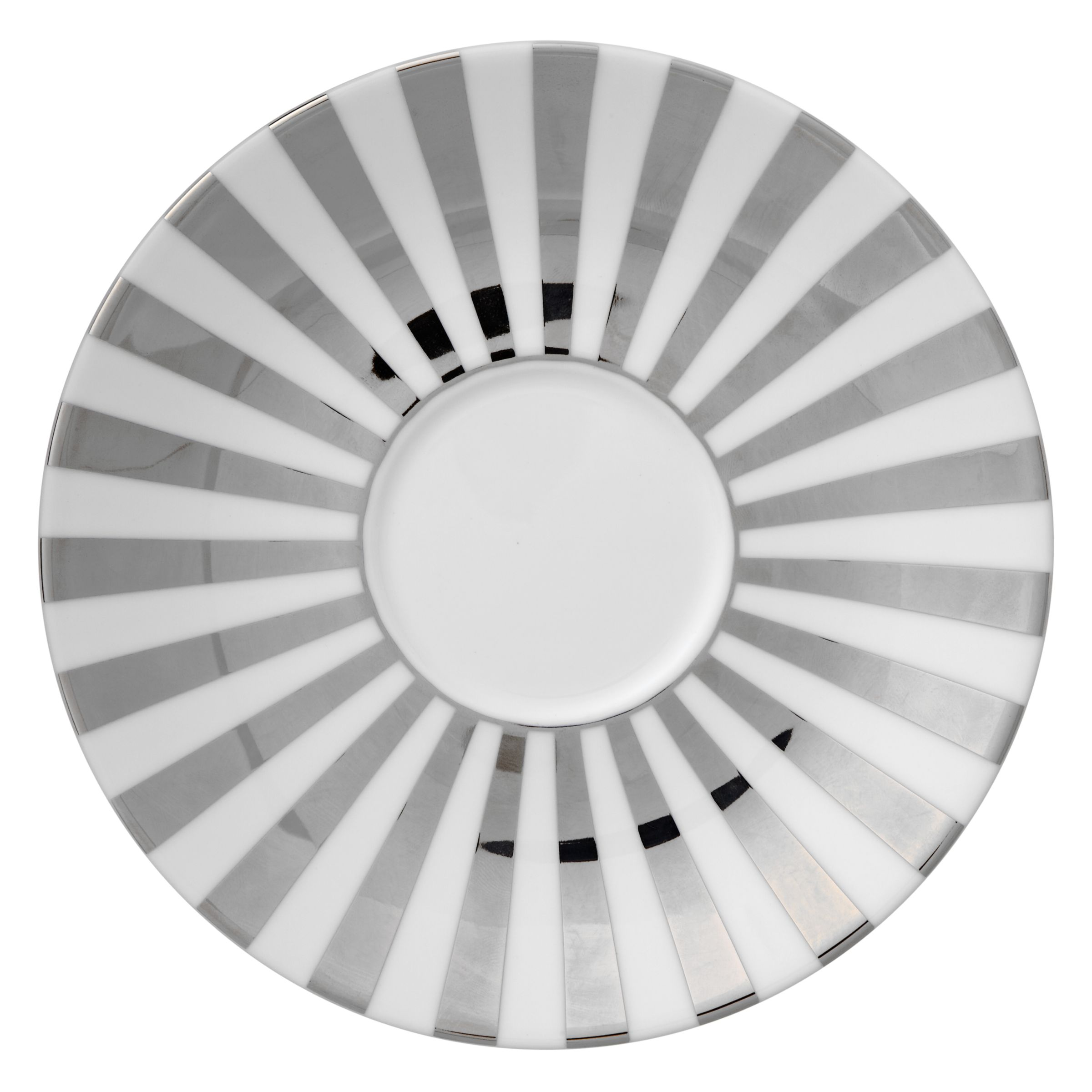 Jasper Conran Jasper Conran for Wedgwood Platinum Striped Tea Saucer