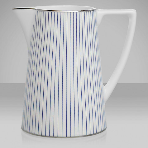 Buy Jasper Conran for Wedgwood Pinstripe Cream Jug Online at johnlewis.com