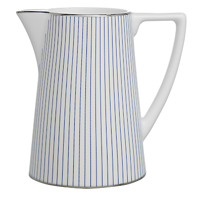 Image of Jasper Conran for Wedgwood Pinstripe Cream Jug