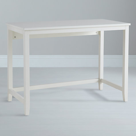Buy John Lewis Loft Simple Desk and Filing Cabinet, White Online at johnlewis.com