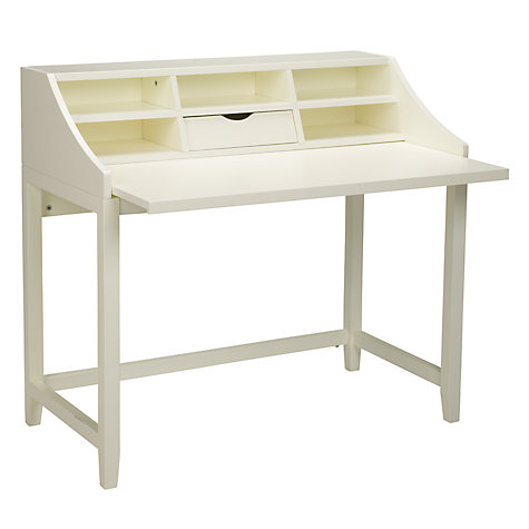 Buy John Lewis Loft Desk and Filing Cabinet, White Online at johnlewis.com