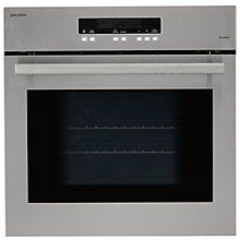 Buy John Lewis JLBIOS664 Single Electric Oven, Stainless Steel Online at johnlewis.com