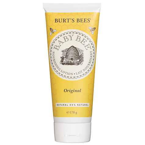 Buy Burt's Bees Baby Bee Buttermilk Lotion, 200ml Online at johnlewis.com