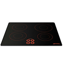 Buy Smeg SI644DR Marc Newson Ceramic Induction Hob, Grafica Red Brick Online at johnlewis.com