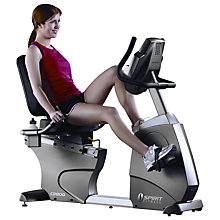 Buy Spirit Fitness CR800 Club Series Recumbent Exercise Bike Online at johnlewis.com