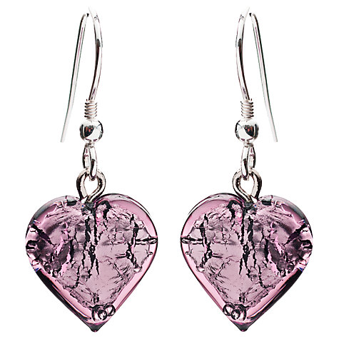 Buy Martick Bohemian Glass and Silver Earrings Online at johnlewis.com