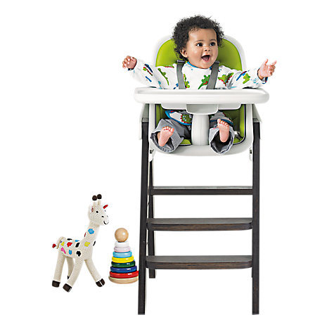 Buy OXO Tot Sprout Highchair, Green/Walnut Online at johnlewis.com