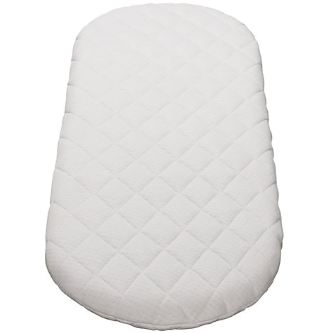 Buy John Lewis Baby Moses Basket Mattress, L66 x W28cm Online at johnlewis.com