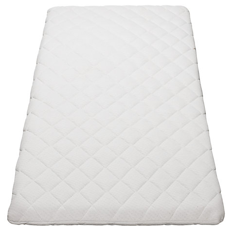 Buy John Lewis Baby Crib Mattress, L89 x W38cm Online at johnlewis.com