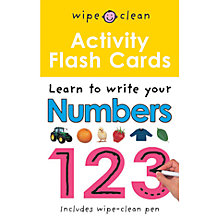 Buy Wipe Clean Flashcards: Numbers Online at johnlewis.com