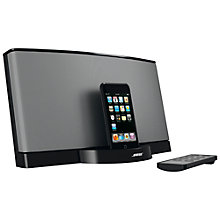 Buy Bose® SoundDock® digital music system, Black Online at johnlewis.com