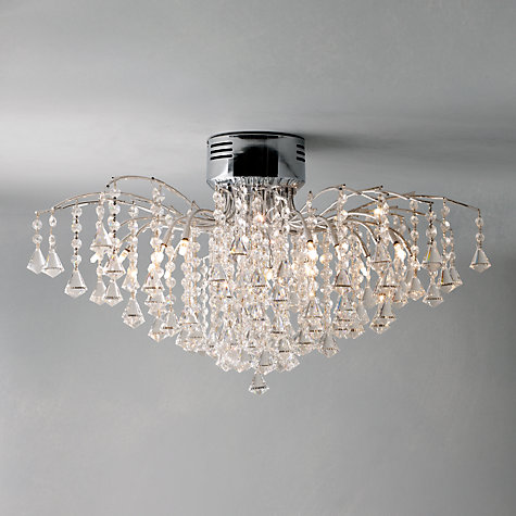 buy john lewis callisto semi flush ceiling light john lewis
