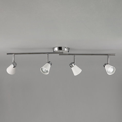 Buy John Lewis Logan 4 Spotlight Ceiling Bar Online at johnlewis.com