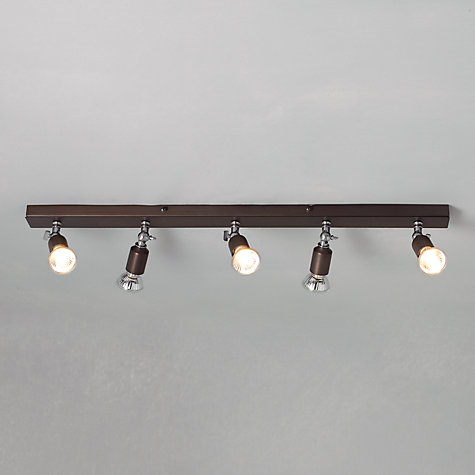 Buy John Lewis Churchill 5 Spotlight Ceiling Bar Online at johnlewis.com