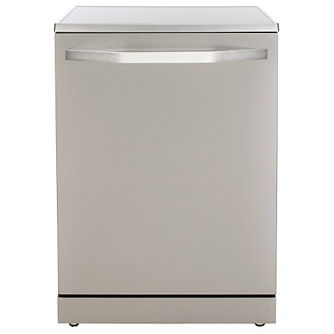 Buy John Lewis JLDW1225 Dishwasher, Stainless Steel Online at johnlewis.com