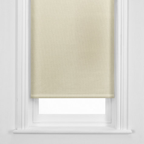 Buy John Lewis Blackout Roller Blind, Latte Online at johnlewis.com