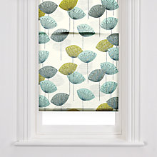Buy John Lewis Dandelion Clocks Roller Blind, Aqua Online at johnlewis.com