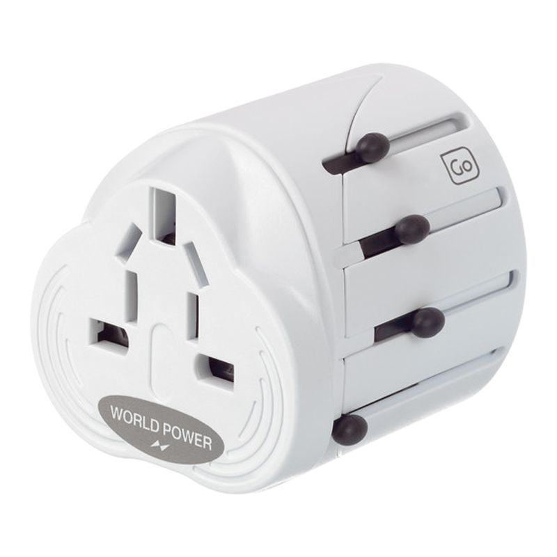 Design Go Worldwide And Usb Travel Adaptor