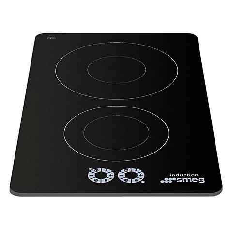 Buy Smeg SI321D Marc Newson Ceramic Domino Induction Hob, Grafica Grigia Online at johnlewis.com