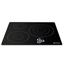 Buy Smeg SI633D Marc Newson Ceramic Induction Hob, Grafica Grigia Online at johnlewis.com