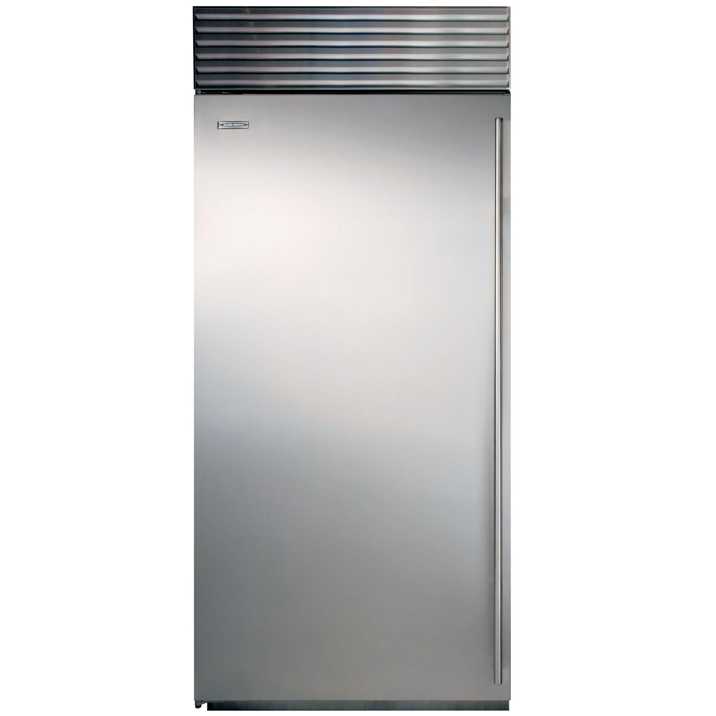 Sub-Zero Sub-Zero ICBBI36F/S/TH/LH Freezer, A+ Energy Rating, 91cm Wide, Stainless Steel