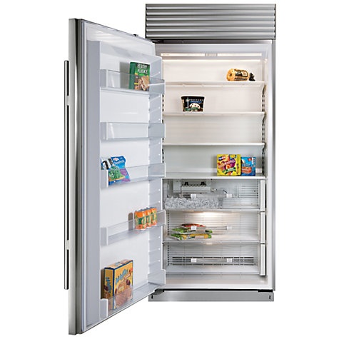 Buy Sub-Zero ICBBI36F/S/TH/LH Freezer, A+ Energy Rating, 91cm Wide, Stainless Steel Online at johnlewis.com