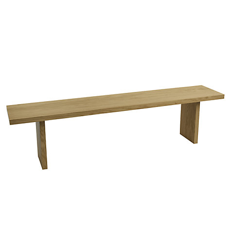 Buy John Lewis Henry Bench, L150cm Online at johnlewis.com