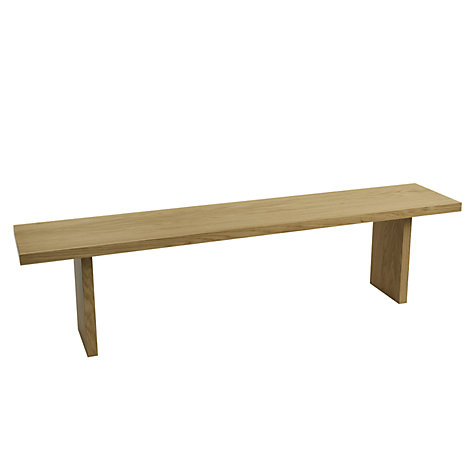 Buy John Lewis Henry 5-Seater Dining Bench, Oak Online at johnlewis.com