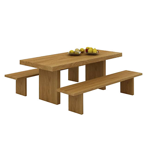 Buy John Lewis Henry Bench, L220cm Online at johnlewis.com