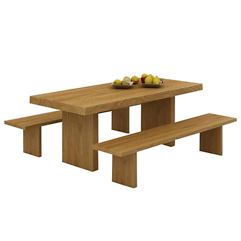 Buy John Lewis Henry Bench, L260cm Online at johnlewis.com