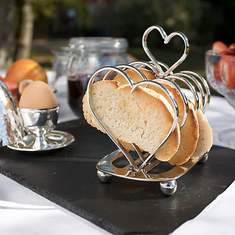 Buy Culinary Concepts Amore Heart Toast Rack Online at johnlewis.com