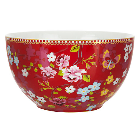 Buy PiP Studio Bowl, Pink, Dia.18cm Online at johnlewis.com